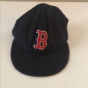 Boston Red Sox hat new era flat bill 7 1/4